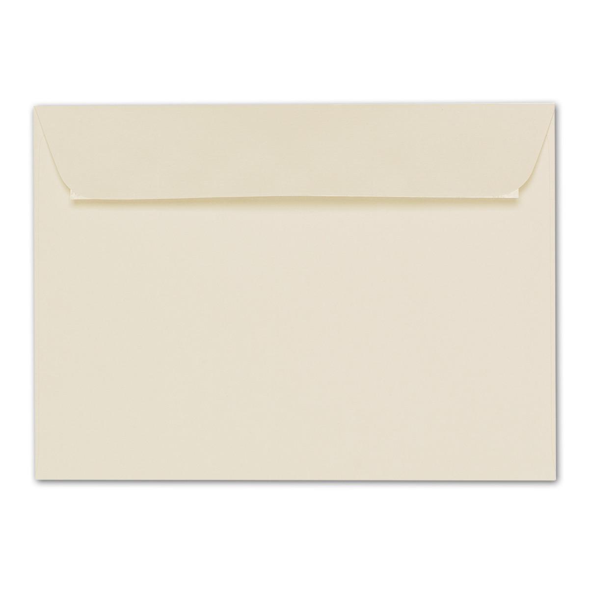 Kuvert ohne Fenster 220 x 110 mm DL C5//C6 ARTOZ 50x Briefumschl/äge DIN Lang Classic Blue 100 g//m/² SEIDENFUTTER - Umschl/äge Nassklebung mit Gummierung