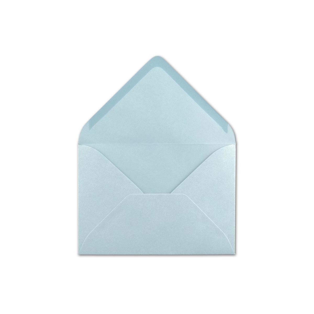 25x Brief-Umschl/äge Format B6 Schwarz- 119 x 174 mm Nassklebung mit spitzer Klappe 110 g//m/² Einladungs-Kuverts FarbenFroh/®