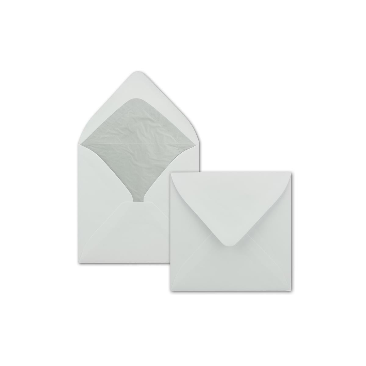 weiß 25 Umschläge C5 Faltkarte 15x20 cm