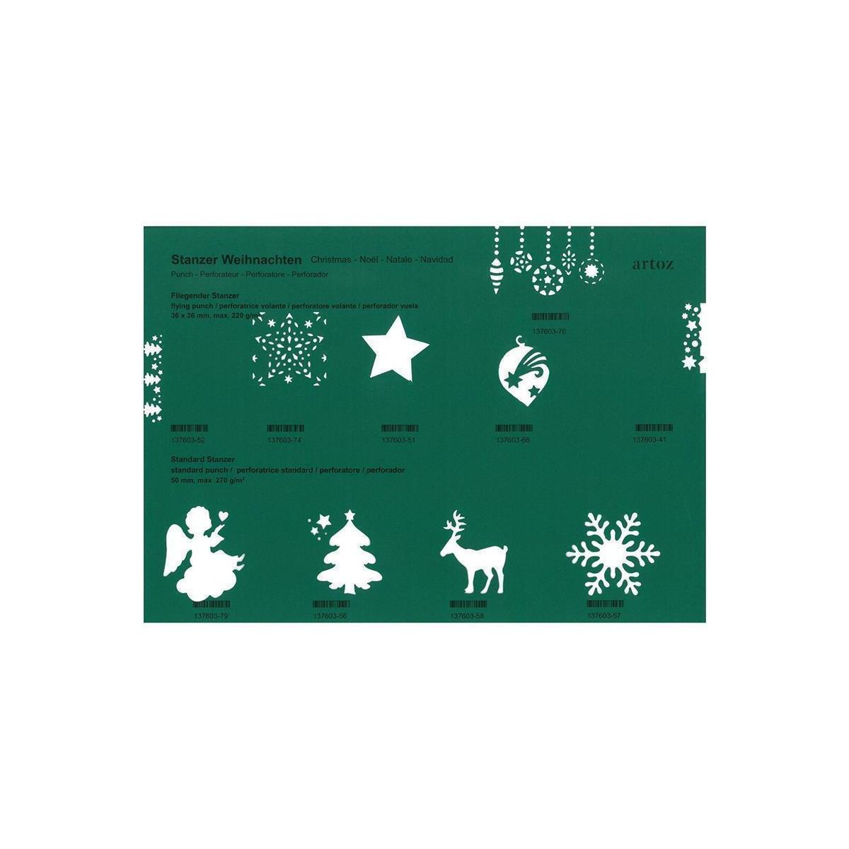 Weihnachtsrentier Papier 100 Sets Umschläge DIN A5 Weihnachten