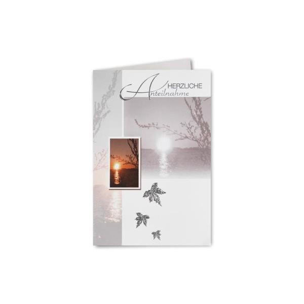 75x Trauerkarten-Set mit Kreuz ca Faltkarten Trauer-Anzeigen B6 11,4 x 19,5 cm /& Trauer-Umschl/ägen mit schwarzem Rand /& schwarzem Futter