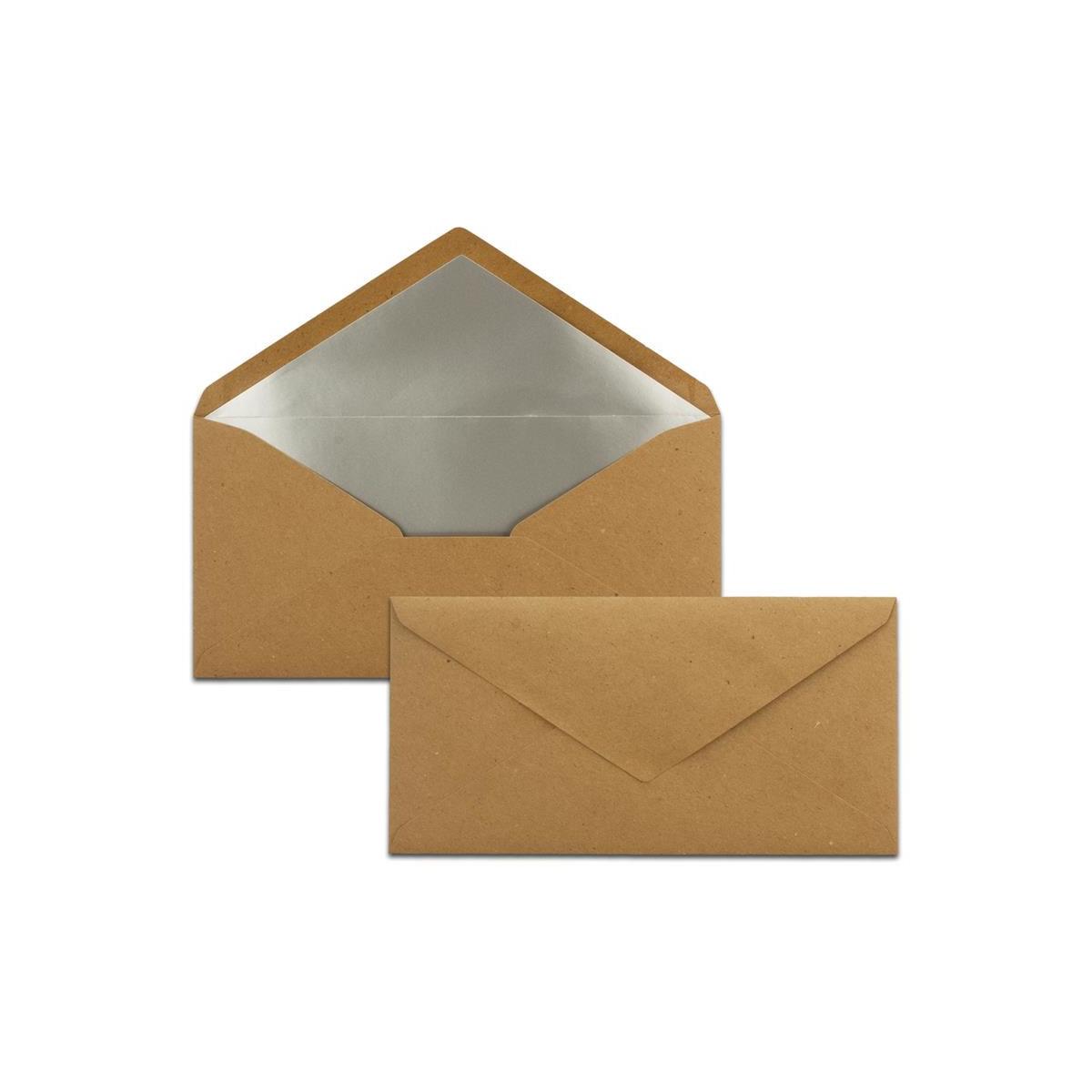 Kuverts in Schwarz Brief-Umschl/äge DIN C6-114 x 162 mm 100 St/ück 11,4 x 16,2 cm Na/ßklebung Matte Oberfl/äche /& Gold-Metallic F/ütterung f/ür Einladungen ohne Fenster