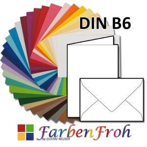 156 x 220 mm FarbenFroh by Gustav NEUSER/® Nassklebung mit spitzer Klappe anthrazit 50x metallic Gold-gef/ütterte Brief-Umschl/äge DIN C5