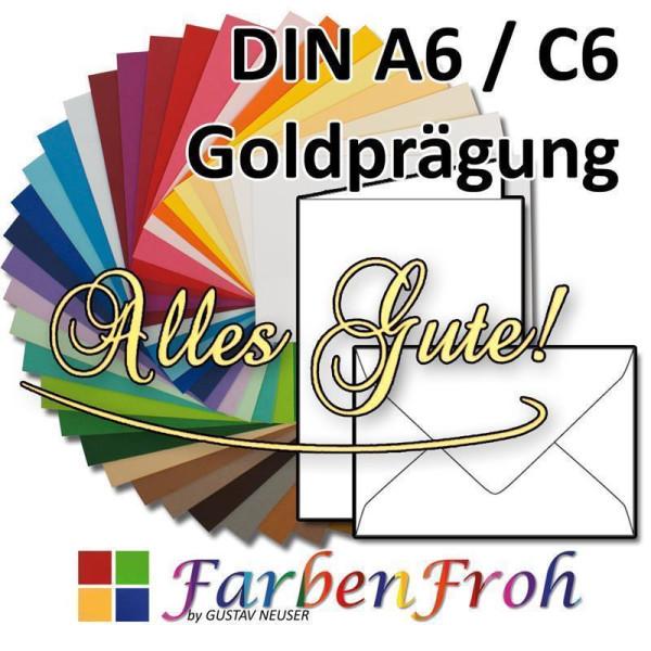 ohne Fenster 30 farbige Briefumschläge FARBE 221 C6